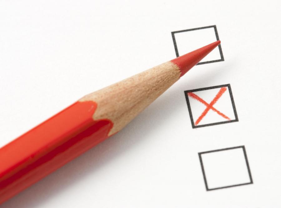 Karta do głosowania - zdjęcie ilustracyjne