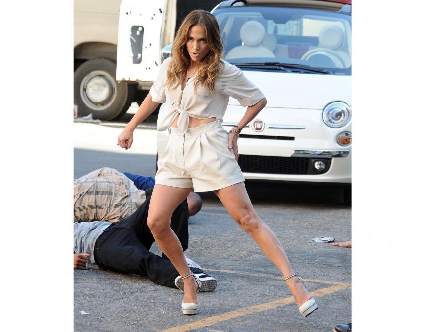 Jennifer Lopez i fiat 500C! Ogląda to cały świat