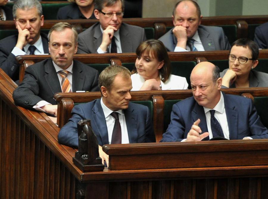 Rząd Donalda Tuska w Sejmie