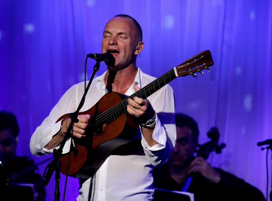 Sting świętuje 25. rocznicę solowej kariery