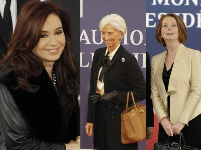 Kobiety na szytacch władzy.