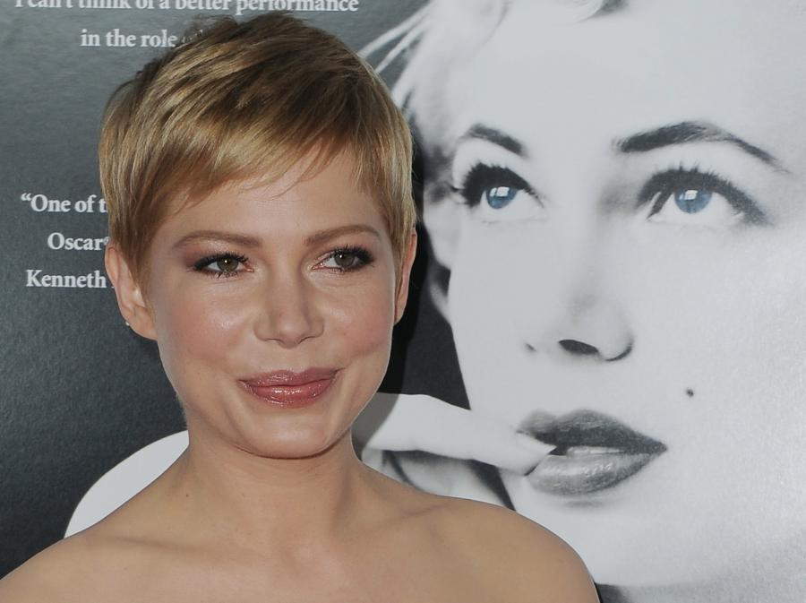 Michelle Williams na premierze \