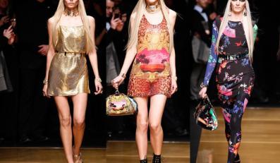 Pokaz kolekcji Versace dla H&M w Nowym Jorku.