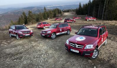 Mercedes GLK w barwach GOPR