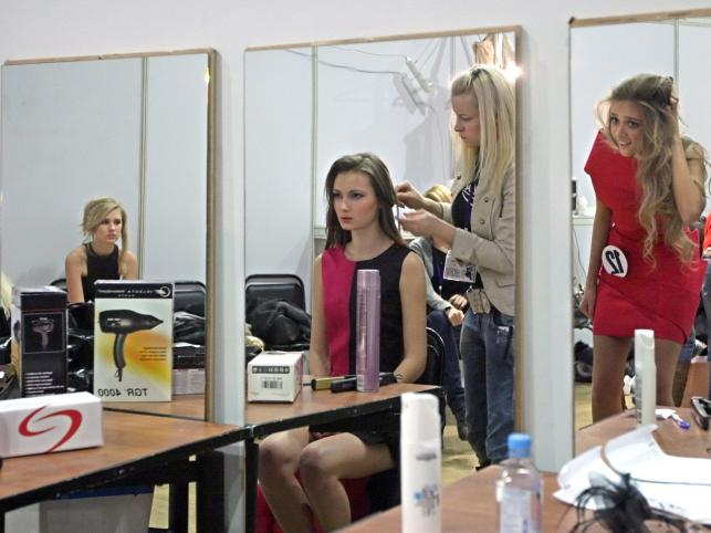 Za kulisami konkursu Russian Supermodel w Moskwie