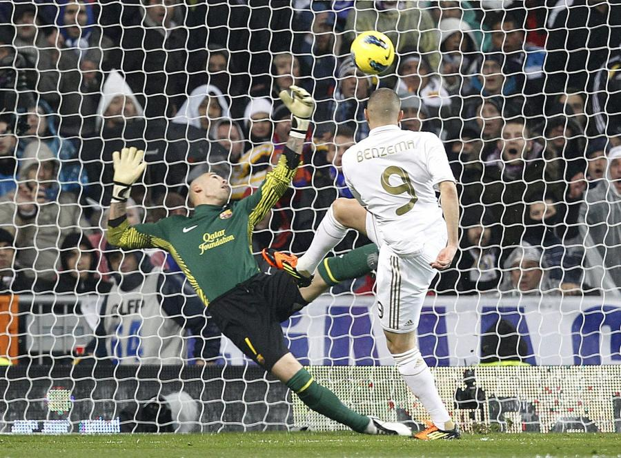 Karim Benzema strzela najszybszego gola w historii Gran Derbi