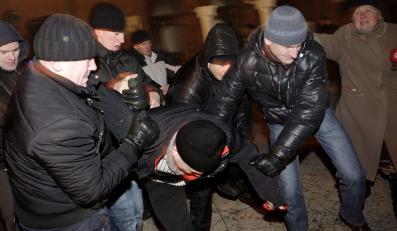 Około 50 zatrzymanych na Białorusi w rocznicę protestu