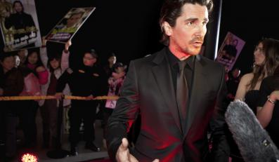 "Christian Bale na chińskiej premierze ""The Flowers of War"""