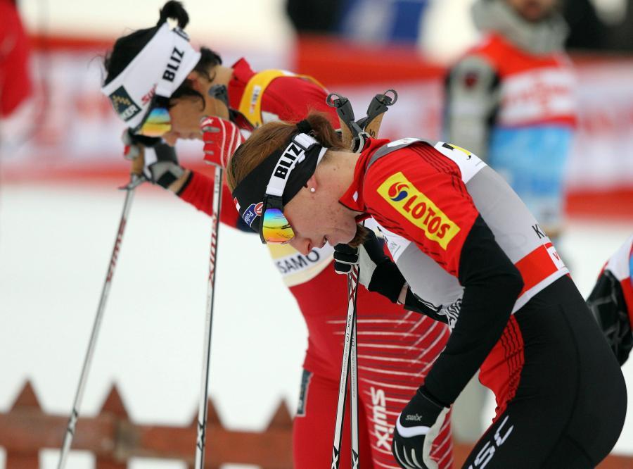 Tour de Ski - Kowalczyk trzecia w sprincie