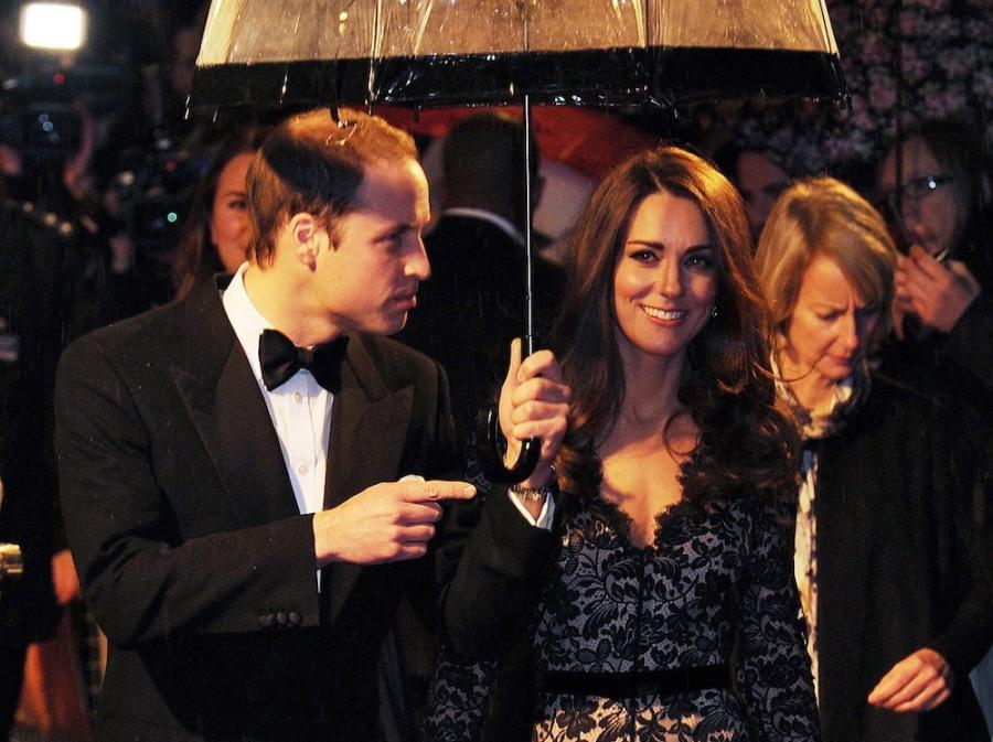 Księżna Catherine i książę William.