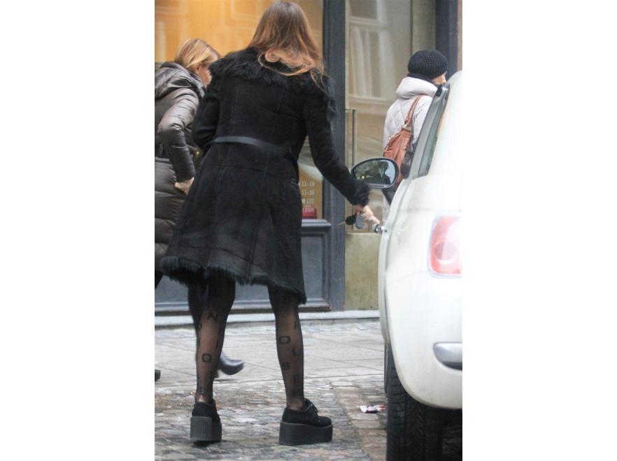 Marina Łuczenko lubi eksperymentować z modą.
