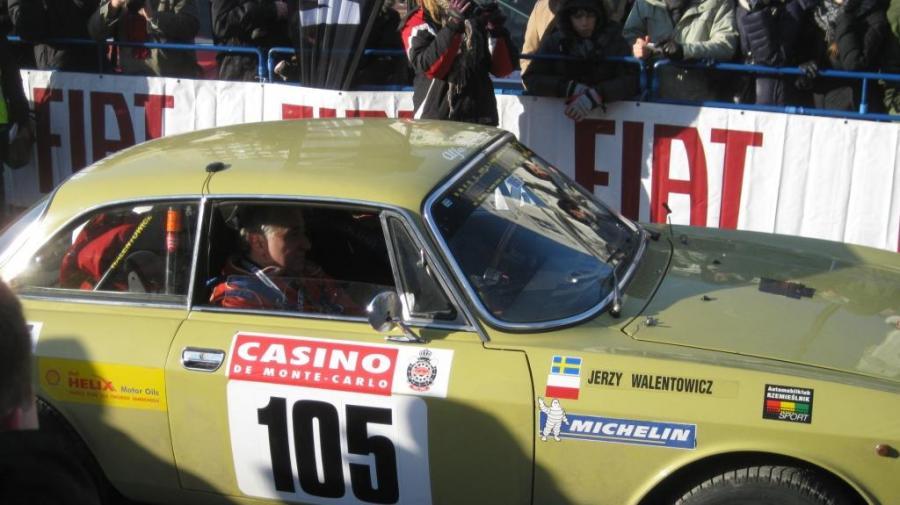 Jerzy Walentowicz, który jadąc Alfą Romeo 2000 GTV (1972 r.) wraz z bratem Wojciechem zajął 35. miejsce w ogólnej klasyfikacji Rajdu