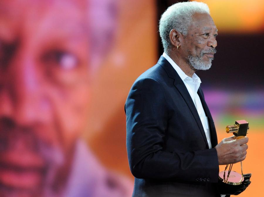 Niemcy uhonorowali Morgana Freemana honorową Złotą Kamerą za całokształt twórczości