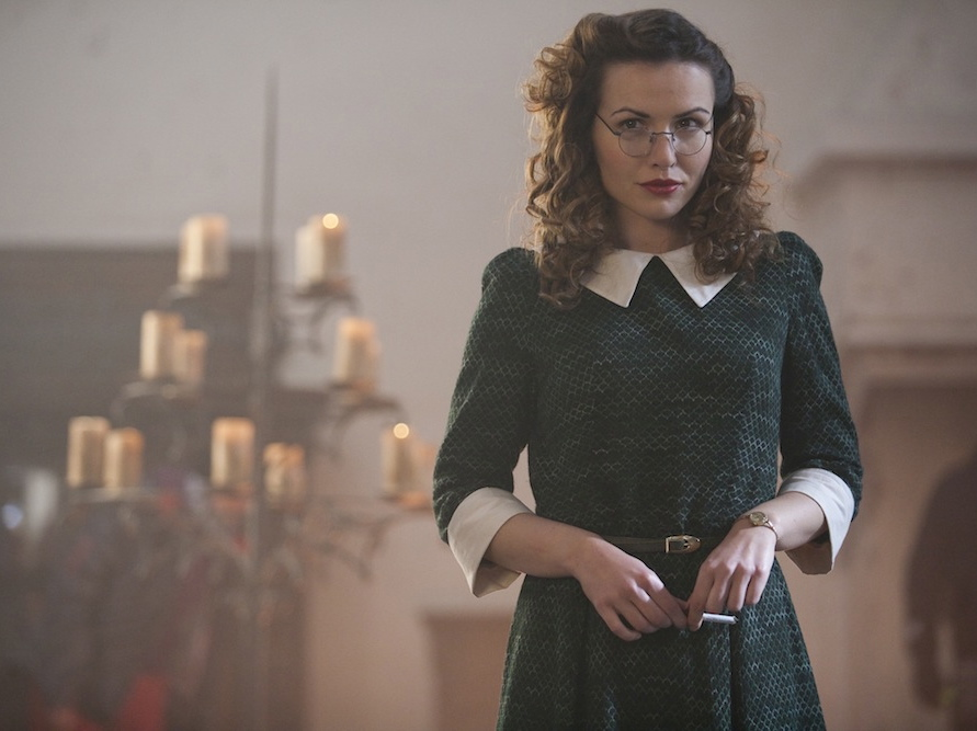 Marta Żmuda Trzebiatowska zagrała Elzę, wielką miłość agenta J-23
