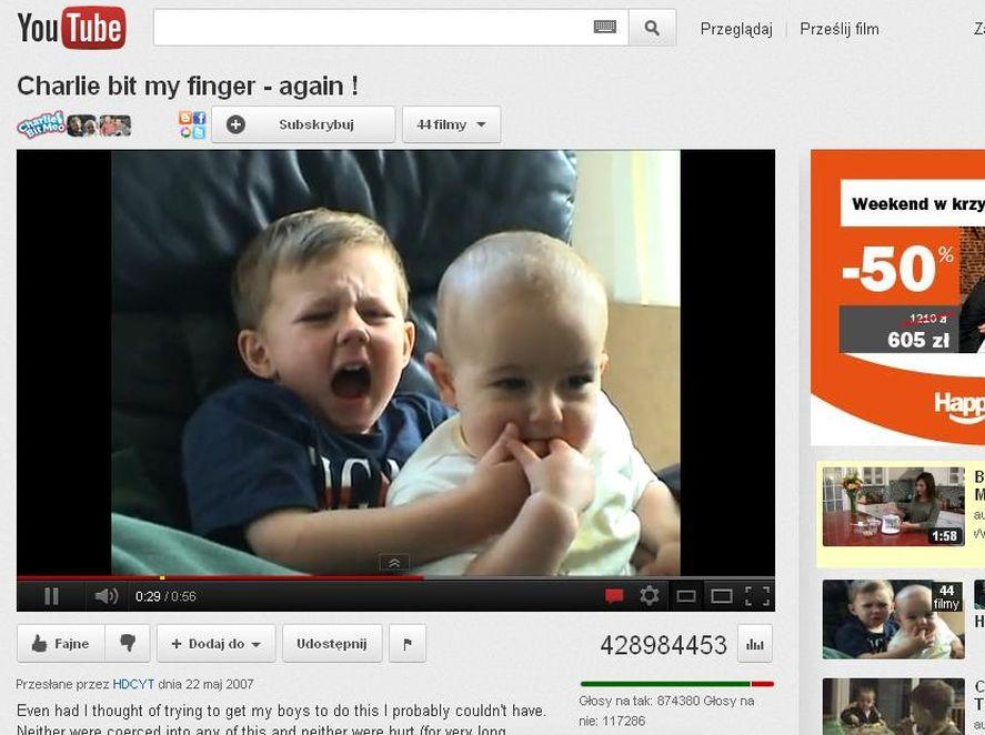 Charlie i jego brat robią karierę w sieci. Wideo z YouTube przyniosło rodzinie fortunę