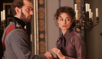 "Keira Knightley i Jude Law w filmie ""Anna Karenina"""