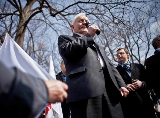 """Miasteczko namiotowe """"Solidarności"""" przed kancelarią premiera"""