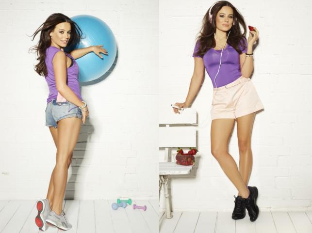 Anna Mucha w kampanii promocyjnej obuwia i odzieży Reebok Easytone