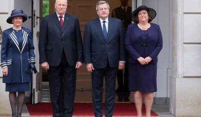 Norweska para królewska i para prezydencka