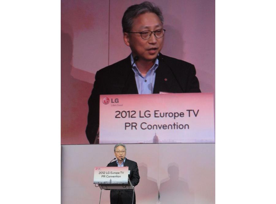 Prezes LG Havis Kwon