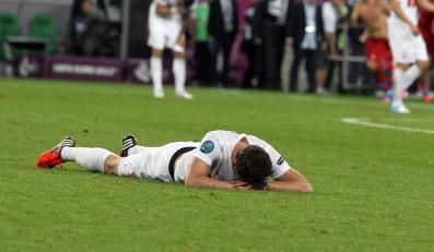 Smutek po meczu z Czechami