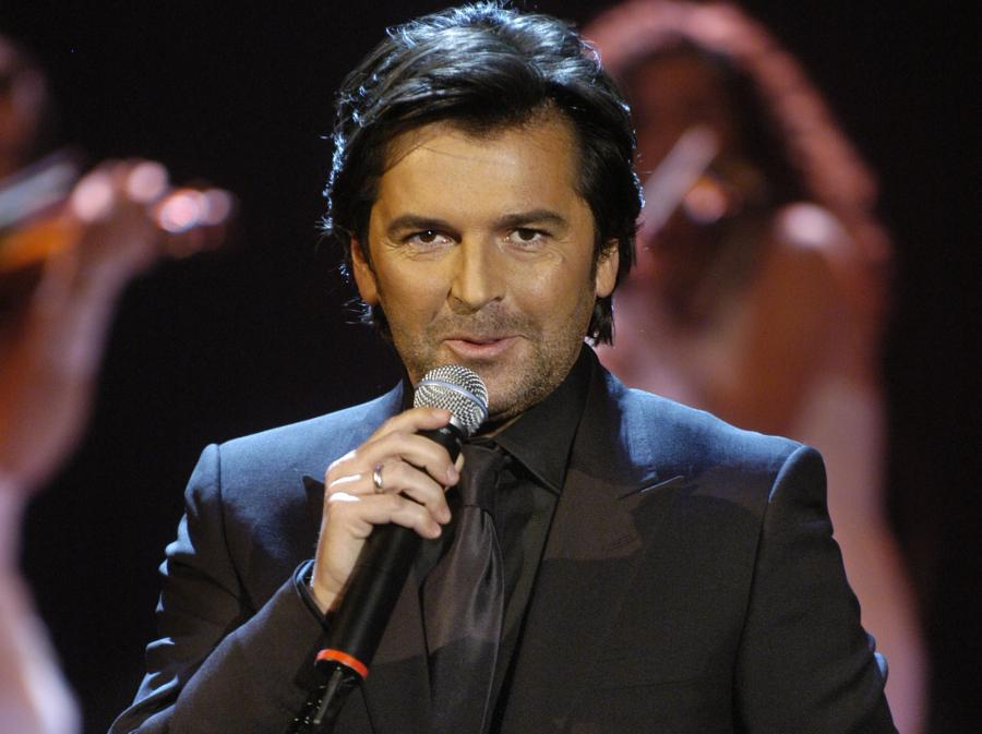 The 54-year old son of father Peter and mother Helga, 172 cm tall Thomas Anders in 2017 photo