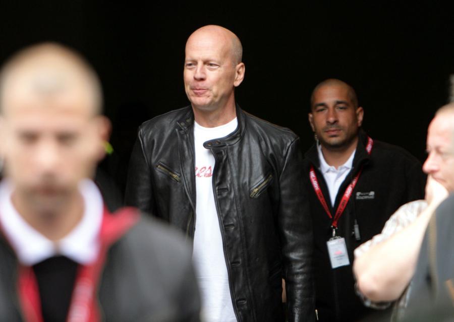 Bruce Willis na planie nowej \