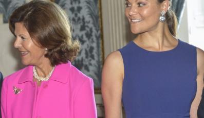 Królowa Szwecji Sylwia i księżniczka Wiktoria