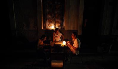 Awaria prądu w Hawanie