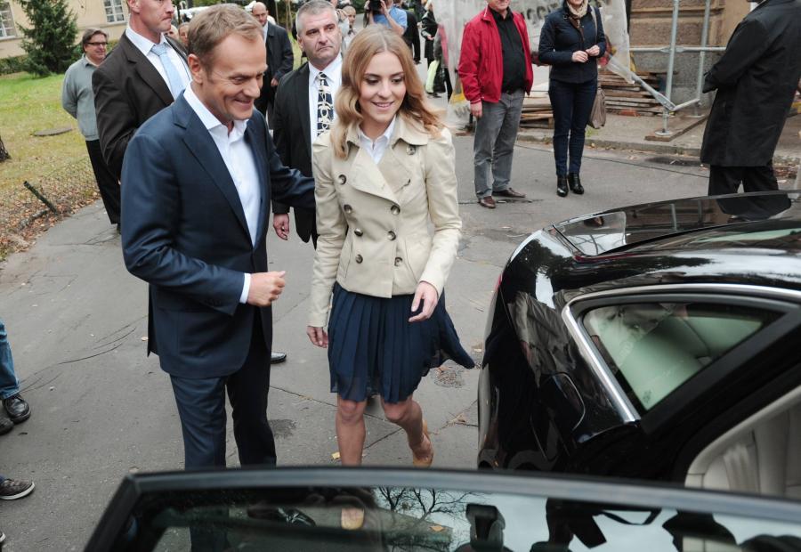 Donald Tusk i Katarzyna Tusk