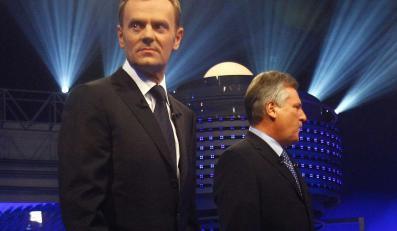 Donald Tusk i Aleksander Kwaśniewski
