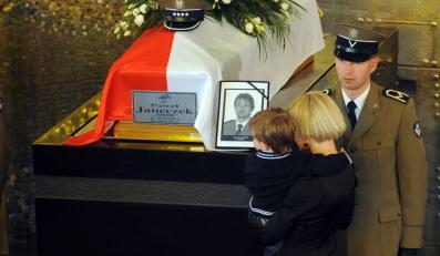 Pogrzeb funkcjonariusza BOR Pawła Janeczka