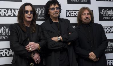 Black Sabbath: Ozzy Osbourne, Tony Iommi i Geezer Butler