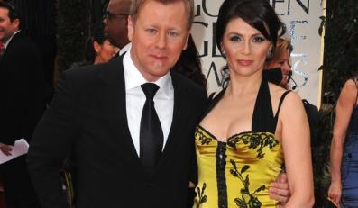 Abel Korzeniowski z żoną