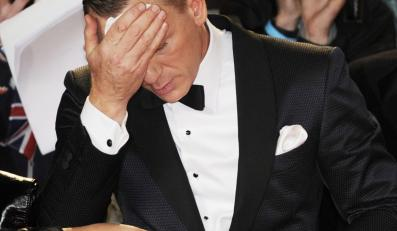 "Daniel Craig na premierze ""Skyfall"""