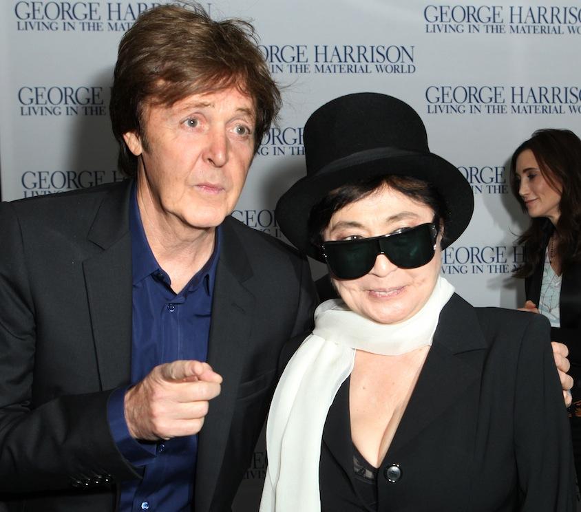Paul McCartney i Yoko Ono