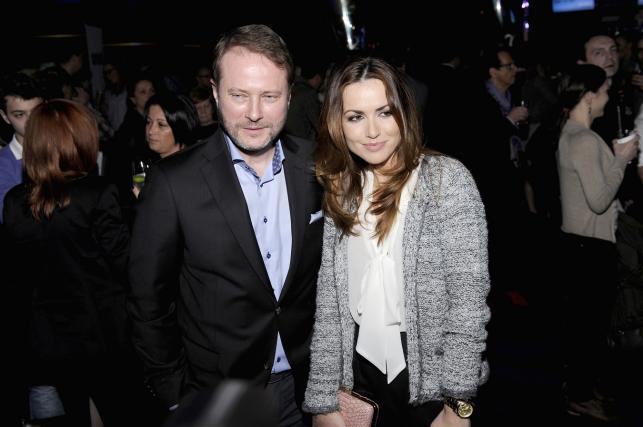 """Artur Żmijewski i Marta Żmuda Trzebiatowska na premierze filmu """"Mój rower"""""""