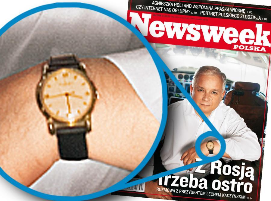 Tajemnica na zdjęciu Lecha Kaczyńskiego