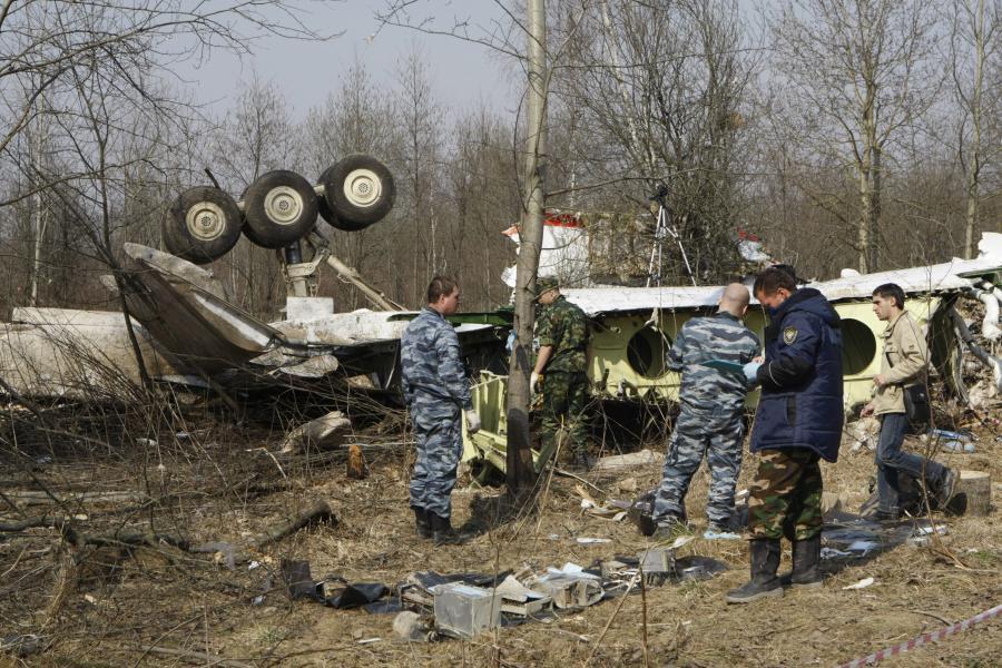 Wrak Tu--154 M