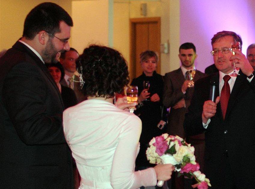 Marszałek Komorowski ożenił syna