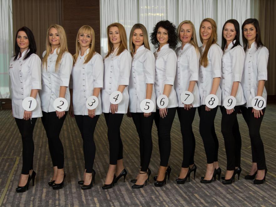 Finalistki konkursu Miss Kosmetyczek 2013