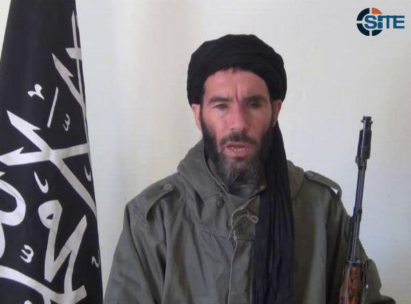 Moktar Belmoktar - przywódca grupy terrorystów