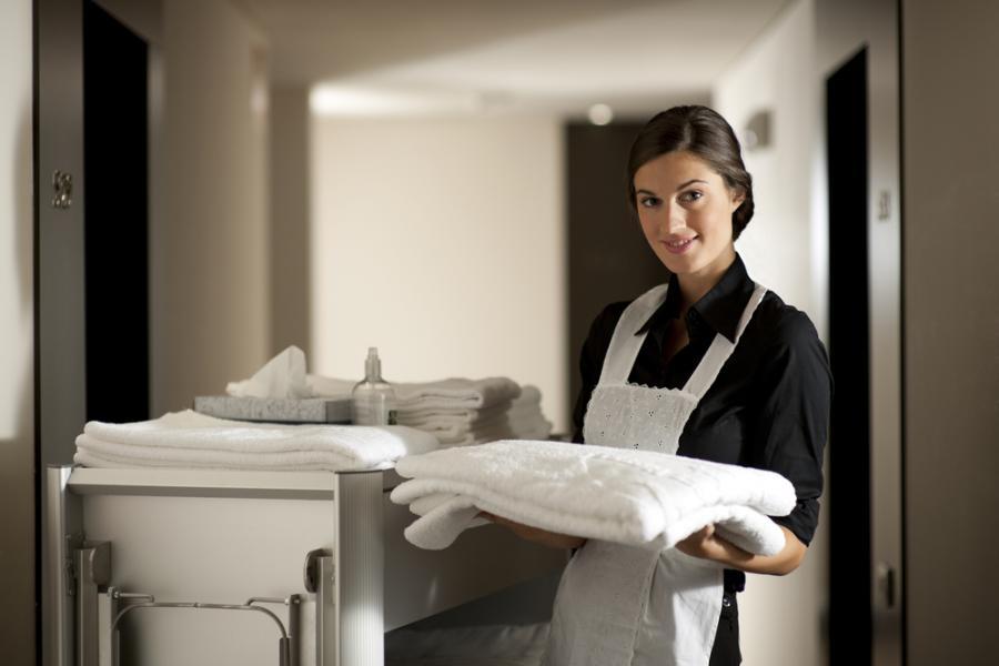 Hotelowe pokoje pełne zarazków