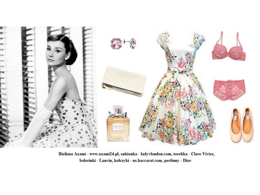 Walentynkowe sylizacje retro - Audrey Hepburn