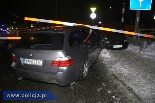 BMW po wypadku