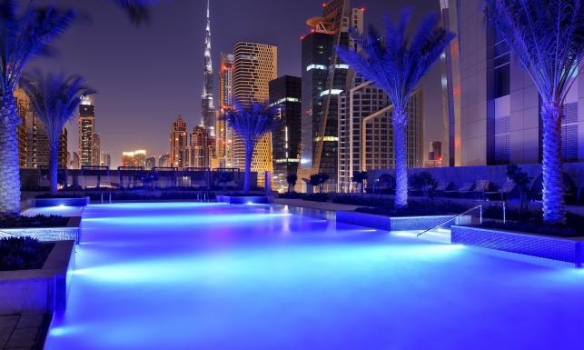Najwyższy hotel na świecie. Zobacz, jak wygląda. ZDJĘCIA