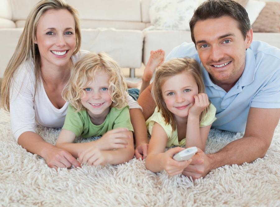 Rodzina na dywanie