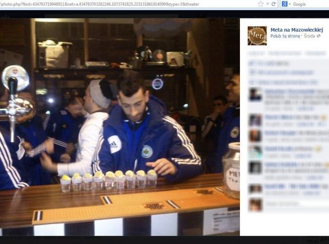 Tak piłkarze z San Marino bawili się po porażce z Polakami