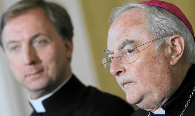 Ksiądz Franciszek Longhamps de Berier i arcybiskup Heryk Hoser