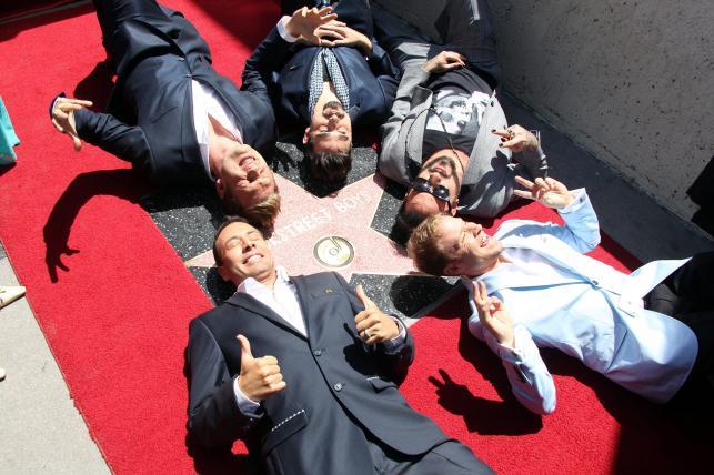 Zespół Backstreet Boys otrzymał swoją gwiazdę w Hollywoodzkiej Alei Sław